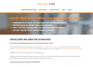 Online Fair Website